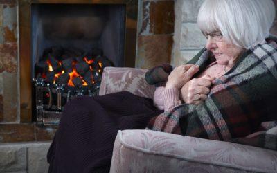 Alzheimer, i consigli per affrontare l'arrivo dell'inverno icare iCare – Servizi a domicilio per anziani e disabili freddoanziani 400x250